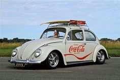Coca Cola VW Vintage Coca Cola, Vw Vintage, Vw Volkswagen, Vw T1, Vw Accessories, Always Coca Cola, Pt Cruiser, Vw Cars, Vw Beetles