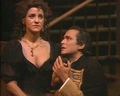 With Agnes Baltsa in 'Carmen',Met,1987