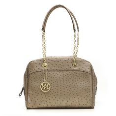 I pinned the Nicole Ostrich bag in Sand with and  Essential  Box Giveaway for me and a friend.