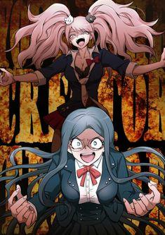 junko enoshima and tsumugi shirogane new danganronpa v3 killing