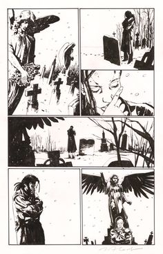 Gotham Central page Comic Art