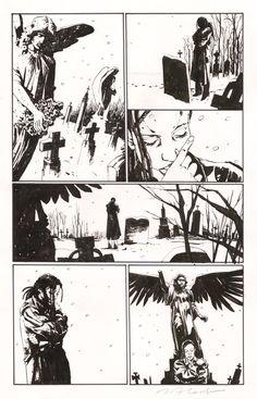 Gotham Central page Comic Art