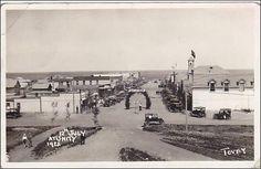 RP: Main Street at 12th July 1922 , UNITY , Saskatchewan , Canada Item# SCVIEW154885 (162715470)