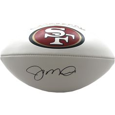 Joe Montana Signed San Francisco 49ers White Panel Football - Joe Montana is widely-considered the greatest Quarterback of all-time. Montana autographs are a wonderful addition to the collection of any true sports fan. This Joe Montana autograph is guaranteed authentic by Steiner Sports and includes a Steiner Sports Certificate of Authenticity and accompanying tamper-proof Steiner Hologram. The Steiner Seal Means Its Real. Gifts > Licensed Gifts > Nfl > San Francisco 49ers. Weight: 3.00