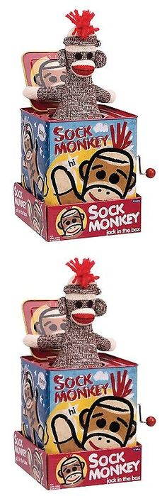 Jack-in-the-Box 166785: Sock Monkey Jack In The Box -> BUY IT NOW ONLY: $36 on eBay!