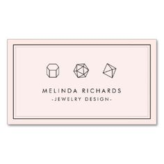 Gemstones Business Cards and Business Card Templates | Zazzle