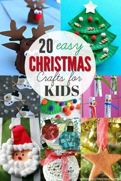 easy christmas crafts for kids 20 christmas craft ideas for kids