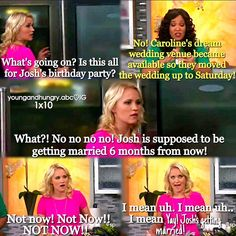 """#YoungAndHungry 1x10 """"Young & Thirty (...and getting married!)"""" - Gabi and Yolanda"""