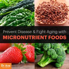 Technically speaking, micronutrients are various types of chemicals that are found in trace amounts in the foods we eat.