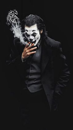 Joker Smoke Laugh iPhone Wallpaper - iPhone Wallpapers - Best of Wallpapers for Andriod and ios Le Joker Batman, Batman Joker Wallpaper, Joker Iphone Wallpaper, Graffiti Wallpaper, Joker Wallpapers, Joker Art, Marvel Wallpaper, Dark Wallpaper, Joker And Harley