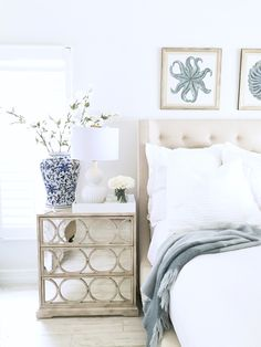 As part of my Bright White Home Series, please join me on the blog to see the Bright White Home of Julie Alpert, and find inspiration for your home!