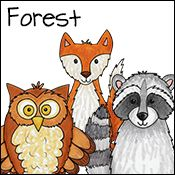There are many themed lessons including farming, bears, forest, etc.