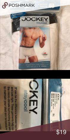 Jockey Men's Stay cool big man briefs XXL New in pack briefs Jockey Underwear & Socks Briefs