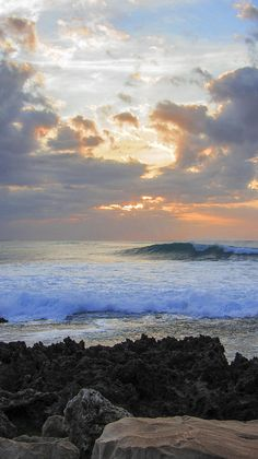 ✯ A beautiful Hawaiian Sunset from Turtle Bay, North Shore, Oahu