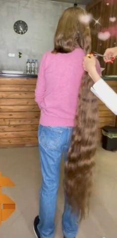 Long Hair Cuts, Long Hair Styles, Rapunzel Hair, Super Long Hair, Beautiful Long Hair, Hair Beauty, Long Hair, Long Hairstyle, Styles For Long Hair