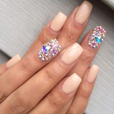 Embellished Nails. Glittery & So Perfect for Christmas!