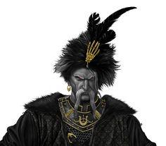 ArtStation - Cossack sorcerer, Oleh Krempovskyi
