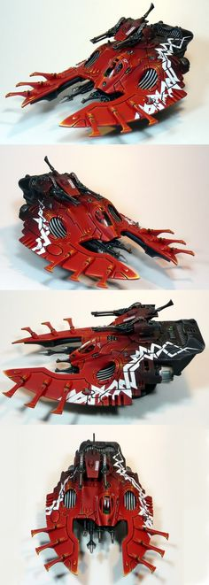 Eldar Wave Serpent Command Transport - Scottdsp748
