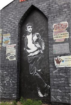 street art, lennon - your thoughts? I'm thinking he was the most troubled but maybe the most gifted Beatle
