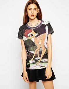 Eleven Paris T-Shirt in Disney Bambi Print