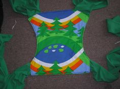 How to sew a Fully Reversible Turned & Topstitched Mei Tai « LunamothMama's Crafty Stuff