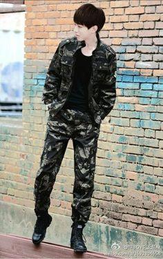 #Tfboys, #TheFightingBoys, #WangJunKai, #Karry, #王俊凯 #cool #cute