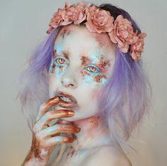 New eye shadow pallets elves Ideas Sfx Makeup, Costume Makeup, Beauty Makeup, Hair Makeup, Makeup Inspo, Makeup Inspiration, Art Visage, Make Up Art, Aesthetic Makeup