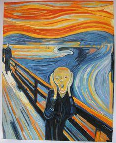 Afbeeldingsresultaat voor de schreeuw origineel