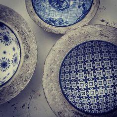 Har gjutit skålar till kommande nr av Hus&hem trädgård. Så kul! /diy concrete craft for swedish magazine. #husohemträdgård #betong #gjuta #concrete #diyconcrete
