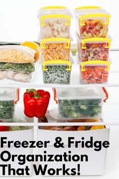 Reduce food waste and help your food budget by organizing your refrigerator and . Reduce food waste and help your food budget by organizing your refrigerator and freezer. These are the tips and suggestions we used to organize our freezer and fridge. Refrigerator Organization, Recipe Organization, Kitchen Cabinet Organization, Organization Hacks, Organizing Tips, Smart Kitchen, Kitchen Hacks, Organized Kitchen, Food Budget