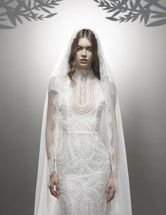 Ersa Atelier Fall 2016 Wedding Dresses - World of Bridal 2016 Wedding Dresses, Bridal Dresses, Ersa Atelier, The Bride, Contemporary Dresses, Fantasy Dress, Luxury Wedding, Dream Wedding, Retro