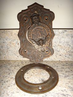 IOOF to the left and right bottom. This is an ultra rare Odd Fellows Lodge Door Peek Hole. Will clear a regular door's inside peep hole. Shown in the last picture. Cast Iron with Copper Plating, this piece is in great condition. | eBay!