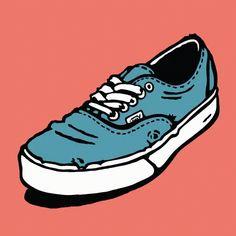 Vans Sneakers, Air Max Sneakers, Vans Skateboard, Texture Drawing, Graphic Design Art, Nike Air Max, Wattpad, Behance, Animation