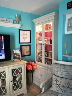 Benjamin Moore Jamaican Aqua Paint Colour Will S Big Boy