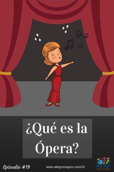 ¿Qué es la ópera?: Ópera para niños y en familia. ¿qué más se puede pedir? #operaparaniños Selena Quintanilla, Music For Kids, Teaching Music, Music Lessons, Music Education, Music Notes, Musicals, Acting, Homeschool