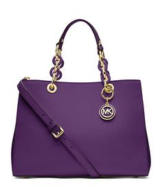 I'm not one for big purses but i love the Michael Kors Bold colors! Available at Dillards.com #Dillards