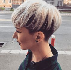 Today we have the most stylish 86 Cute Short Pixie Haircuts. We claim that you have never seen such elegant and eye-catching short hairstyles before. Pixie haircut, of course, offers a lot of options for the hair of the ladies'… Continue Reading → Short Hairstyles For Thick Hair, Short Wavy Hair, Short Pixie Haircuts, Pixie Hairstyles, Short Hair Styles, Hair Trends, Hair Beauty, Beautiful, Pixie Cuts