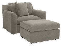 Malone Chair & Ottoman - Chairs - Living - Room & Board