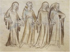 Monks and Nuns in the seventh and eighth centuries