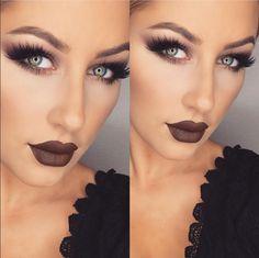 makeup lips diy love Arantza beauty lipstick tip lipliner maquilaje love diy belleza lipstick eyeliner eyebrows eyeshadow mascara fall autumn red