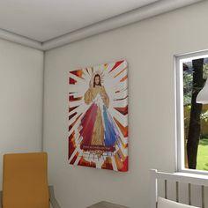Painel decorativo Jesus Misericordioso (Divine Mercy)