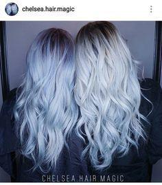 Image Result For Blue Hair Toner Shark In 2020 Blue Hair Denim