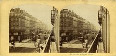 William England - Rue De Rivoli, Paris, 1860