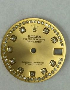 Tools and Parts 14325: Rolex Midsize Datejust Champagne String Custom Diamond Dial 2-T -> BUY IT NOW ONLY: $280 on eBay!