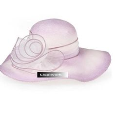Womens Lavender Formal Dress Hats for Wedding Guests Bridal Church SKU-158083