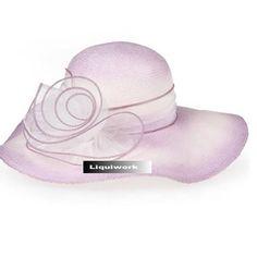 Womens Lavender Formal Dress Hats for Wedding Guests Bridal Church SKU-158083