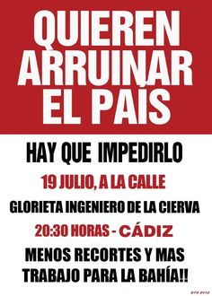 #19J Cádiz