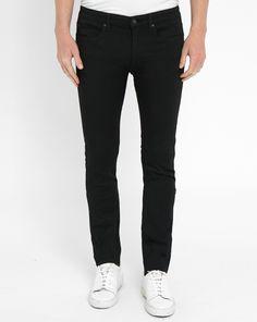 Skinny-Jeans 734 in Schwarz