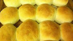 These rolls are JUST like the ones the cafeteria ladies make in the school lunch rooms! They are super easy and everyone will want the recipe. School Recipe, School Lunch Recipes, Bisquick Recipes, Bread Recipes, Cooking Recipes, Yeast Rolls, Bread Rolls, School Lunchroom, Sweet Dinner Rolls