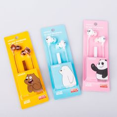 Cute Headphones, We Bare Bears Wallpapers, We Bear, Cute School Supplies, Bear Wallpaper, Airpod Case, Coque Iphone, Cool Gadgets, Cool Things To Buy